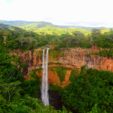 Tamarind Falls, Mauritius Island, Sony DSC-W570