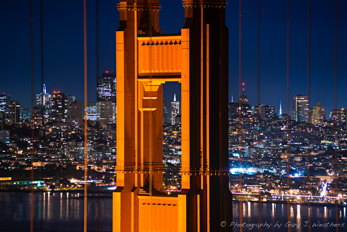 Photograph Noth Tower Golden Gate Bridge by Gary Weathers on 500px