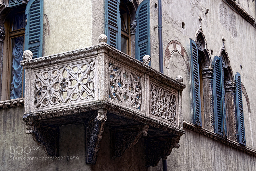 Photograph Old Balcony by Tomasz Podhalański on 500px