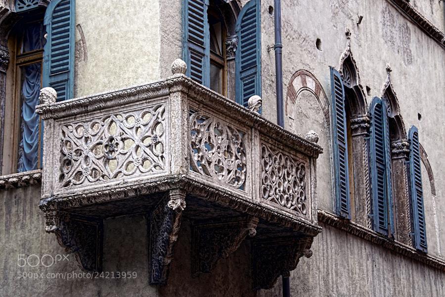 Photograph Old Balcony by Tomasz Podhalański on 500px