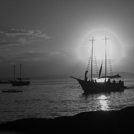 Boat in Buzios, Canon POWERSHOT S60