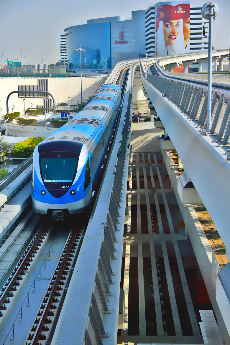 Photograph Dubai metro by Jaffer Shadiq on 500px
