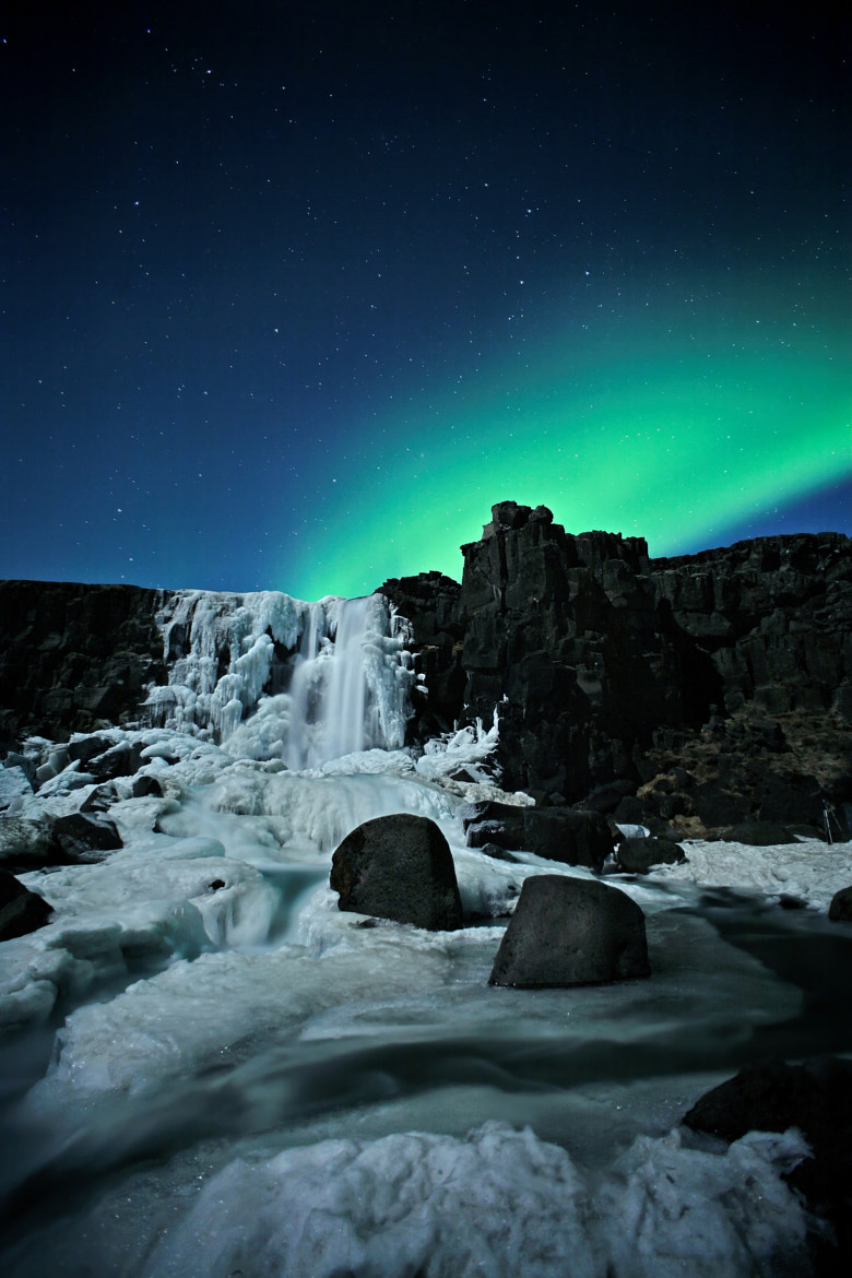 Photograph Aurora at Þingvellir by Hrannar Hauksson on 500px