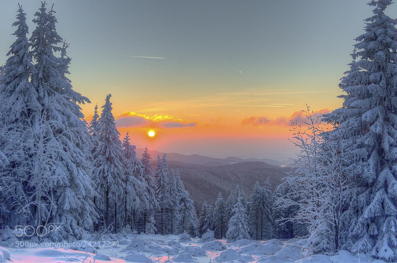 Photograph Orange Sky by Stefan Liepe on 500px