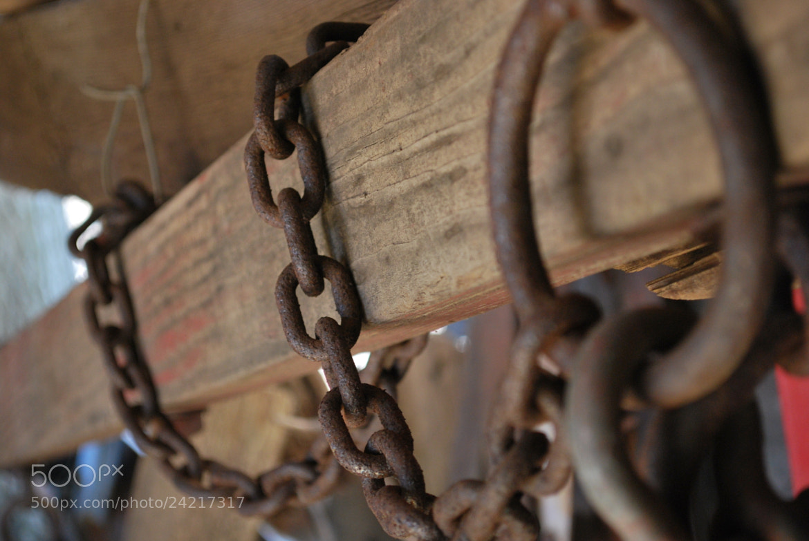 Photograph Rusty Chains by Sandra Gorall on 500px