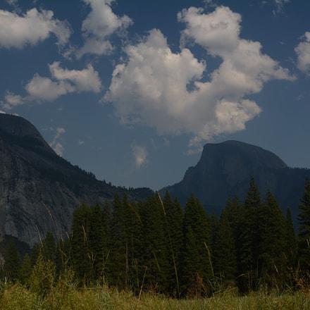 Yosemite - Half Dome, Nikon D7100, AF Zoom-Nikkor 28-80mm f/3.5-5.6D