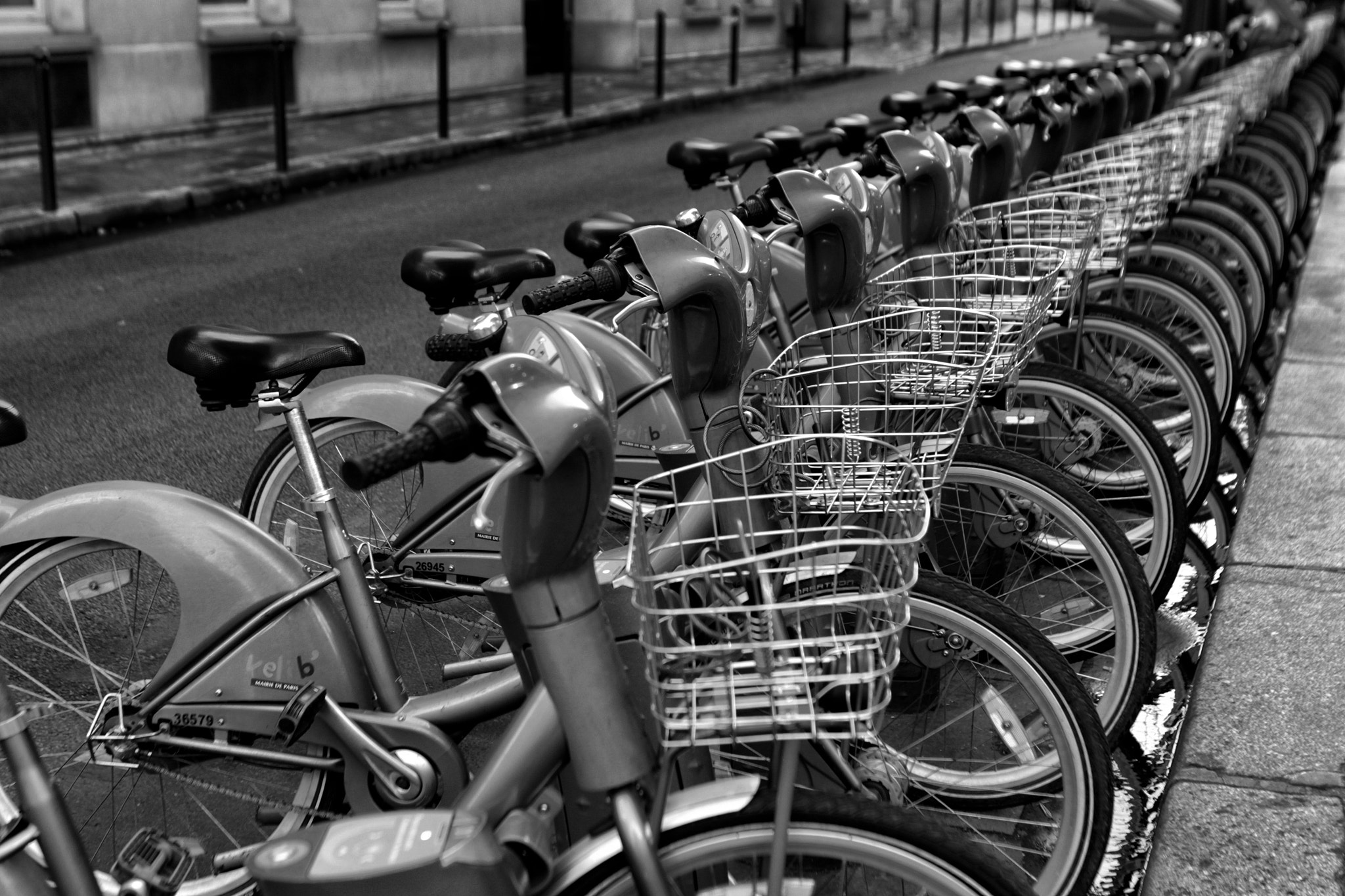 Photograph France - Paris bicycles by Piotr Kanthak on 500px