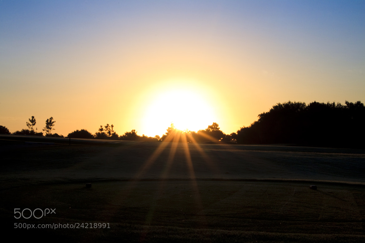 Photograph Golf Course Sunset by Emma Samuel on 500px