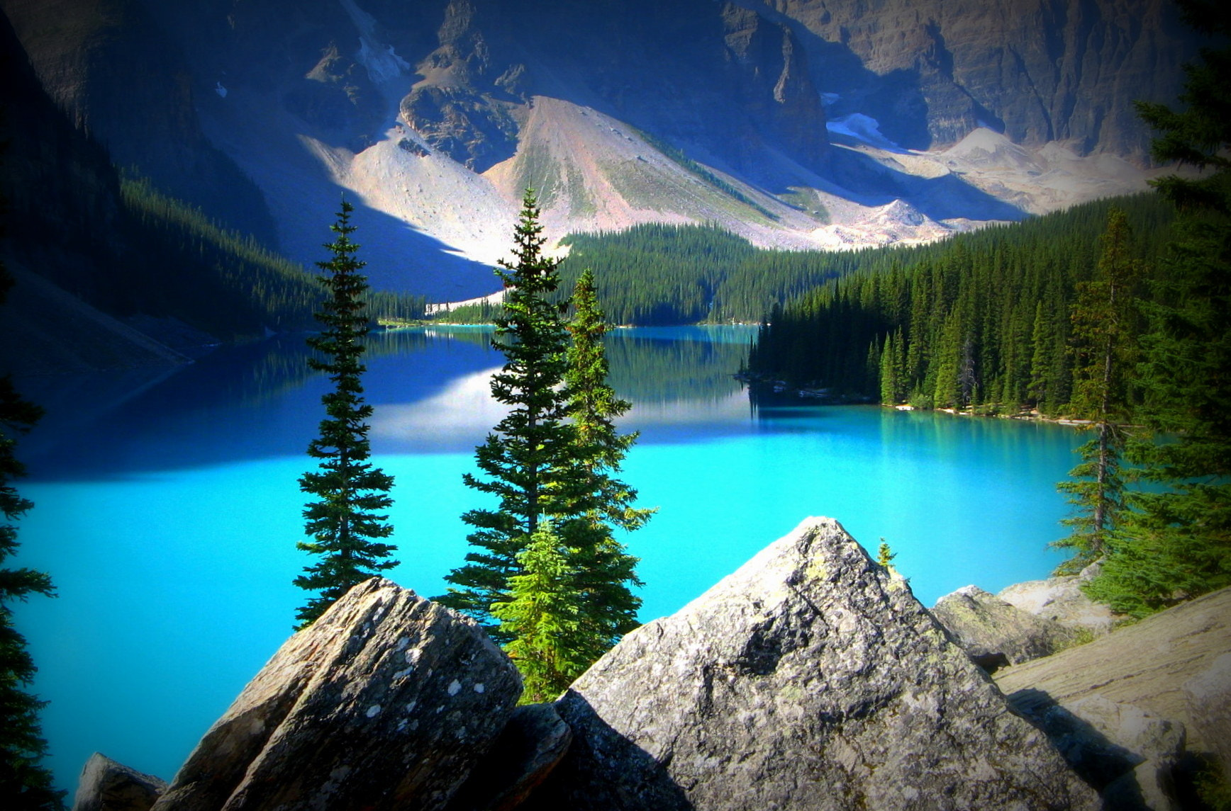 Photograph The turquoise lake by CAN4 on 500px