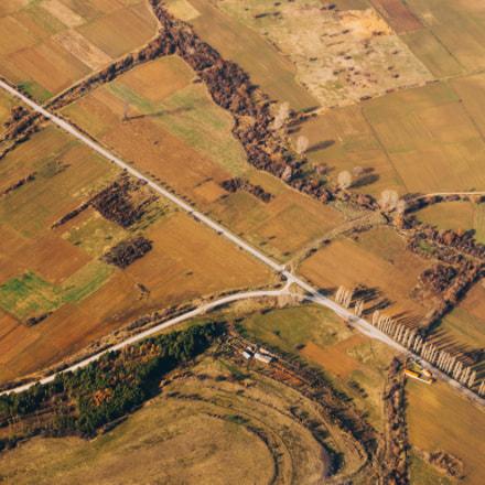 Winterly bulgarian fields