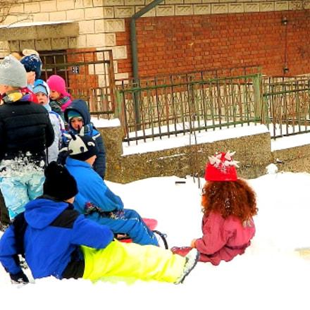 Snow, Nikon COOLPIX L120