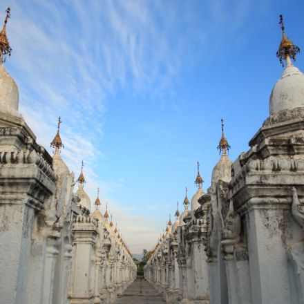 Kuthodaw Pagoda, Canon EOS KISS X7I, Tamron 16-300mm f/3.5-6.3 Di II VC PZD Macro
