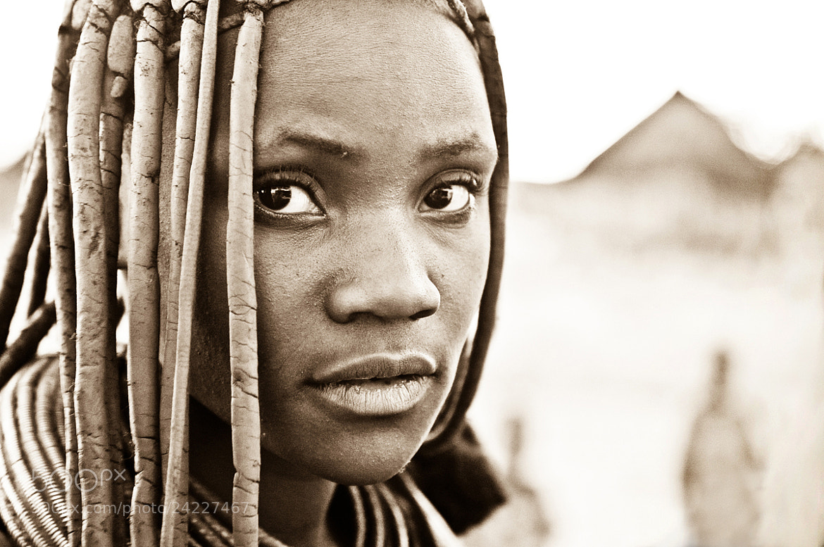 Photograph Himba girl by Milan Schirlo on 500px