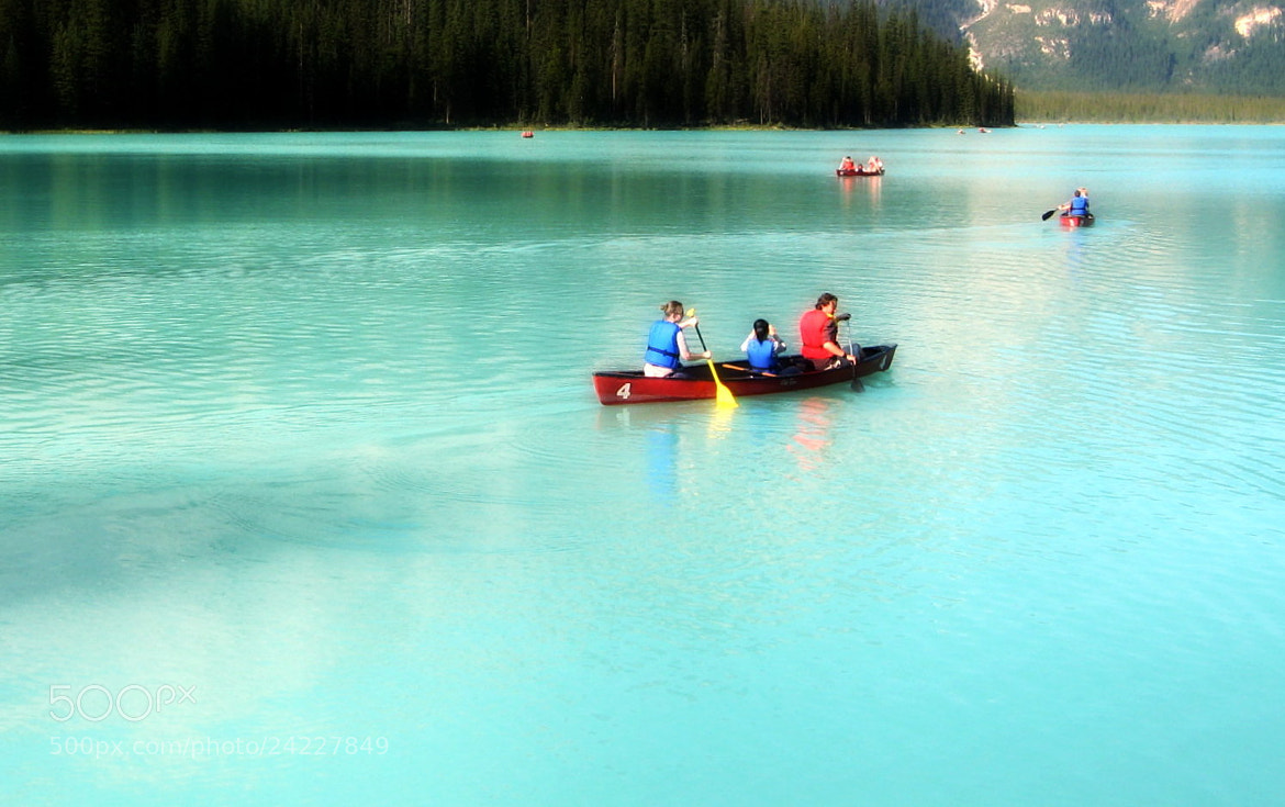 Photograph Kayaking on Emerald lake by CAN4 on 500px
