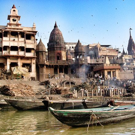 Varanasi India, Fujifilm FinePix A310