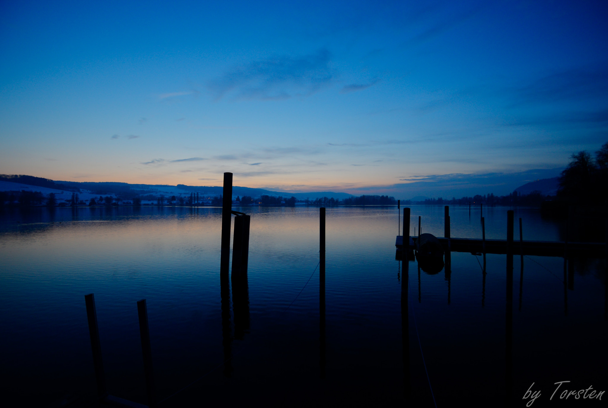 Photograph Winter evening at the lake Constance (PT II) by Torsten Trunz on 500px