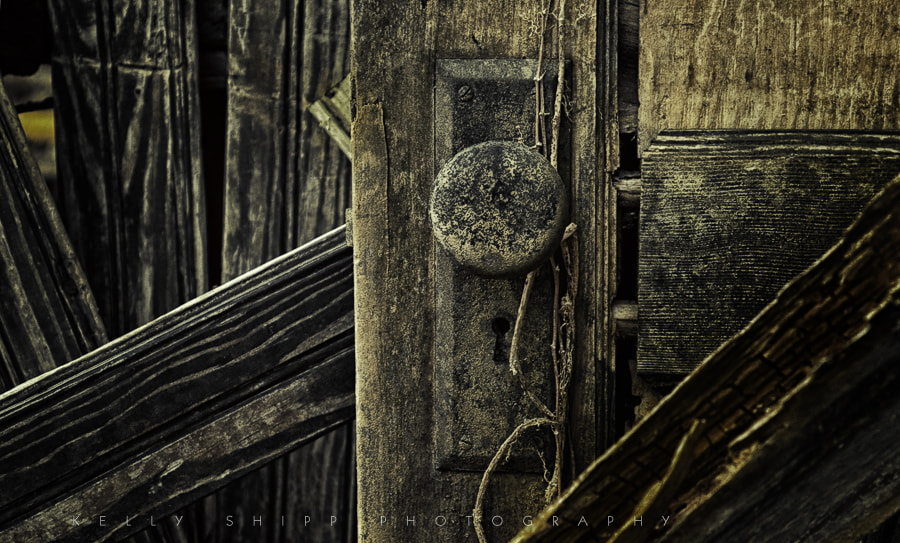 Photograph Door to the Past by Kelly Shipp on 500px