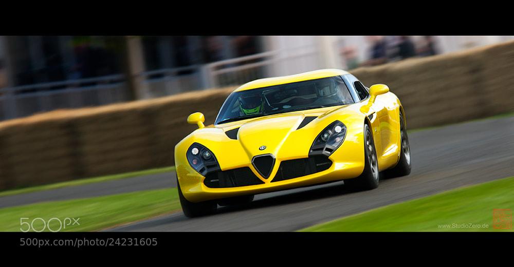 Photograph Alfa Romeo TZ3 Stradale by Zagato by Shurazero Hide Ishiura /  StudioZero.de on 500px