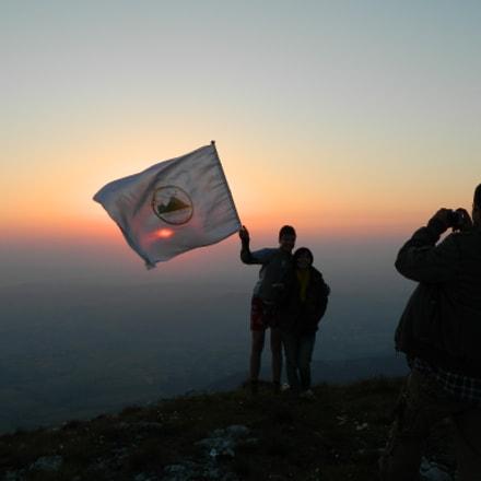 Mountain top,  early morning, Nikon COOLPIX L120