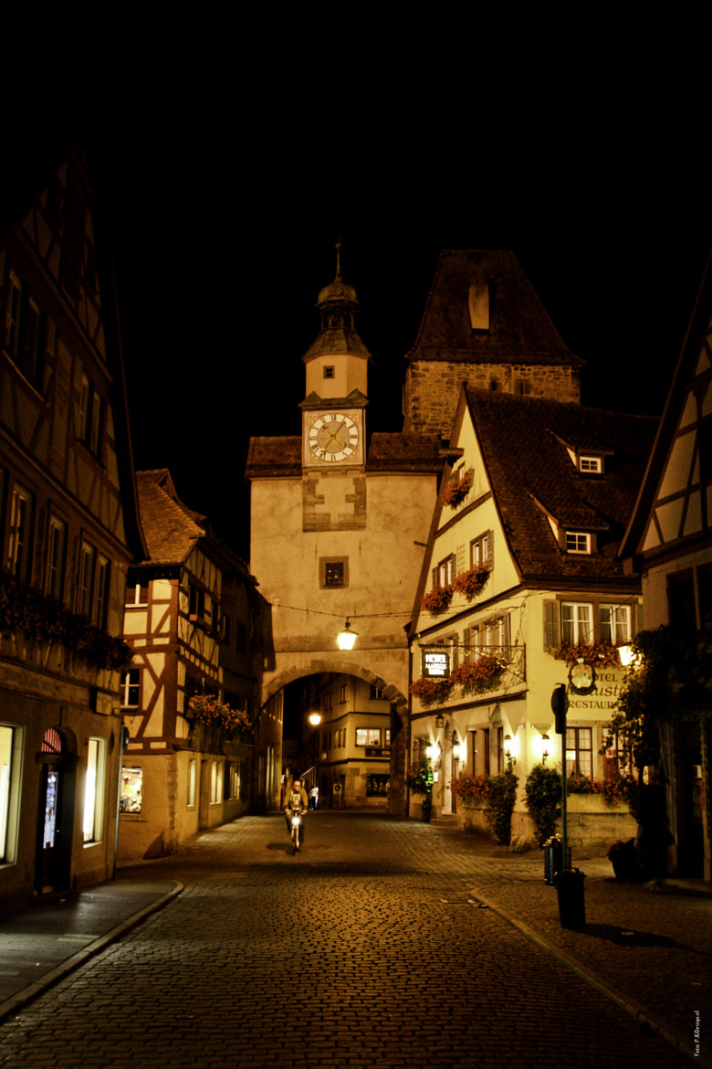Photograph Rothenberg by night by Patrick  on 500px
