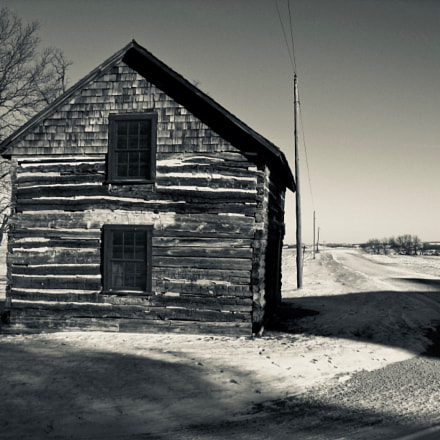MN CR16 Rural Winter, Canon POWERSHOT SD850 IS