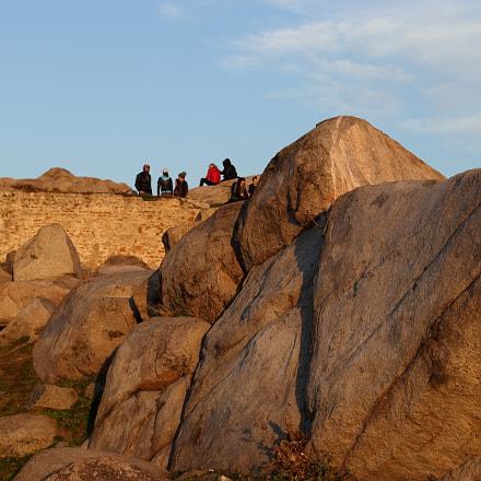 Boulder sunset, Canon EOS 80D