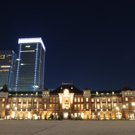 Tokyo Station 東京駅, Pentax K-X, Sigma 17-70mm F2.8-4.0 DC Macro OS HSM