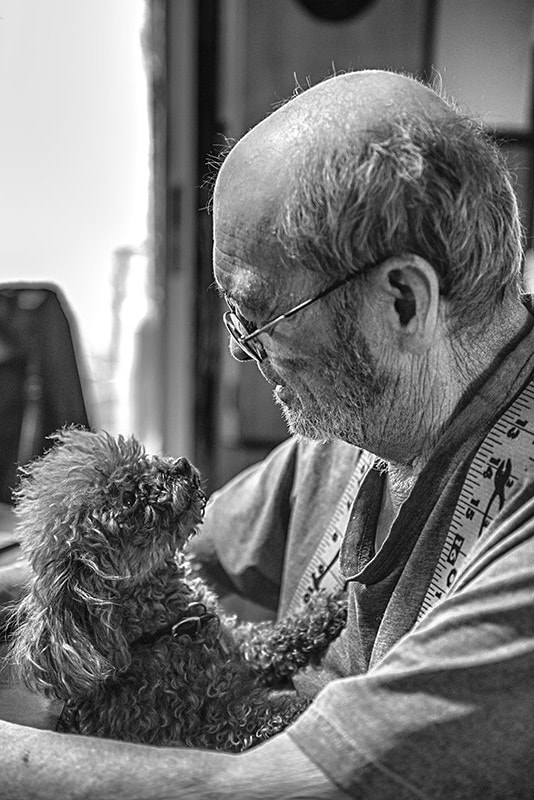 Photograph A Man and his Dog by Ed Hall on 500px