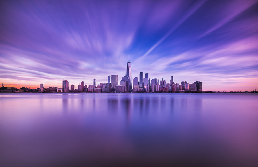 Beautiful city, автор — David Dai на 500px.com