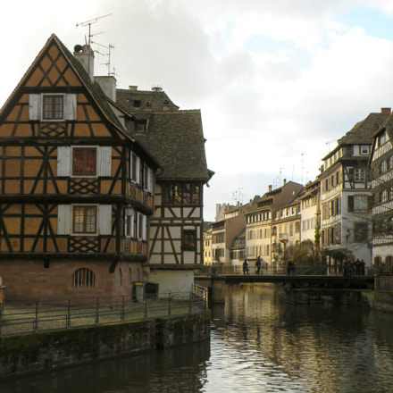 Strasbourg - Maison a, Nikon COOLPIX P80
