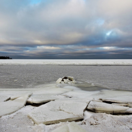 The ice floes, Nikon COOLPIX P600