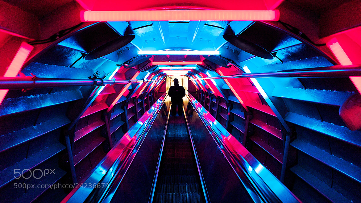 Photograph Time tunnel by Peter Sun on 500px
