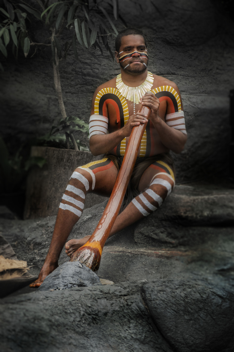 Photograph Aboriginal on the Rock Stage by Tim Norton on 500px