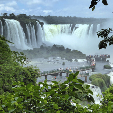 Iguazú Falls view, Panasonic DMC-TZ60