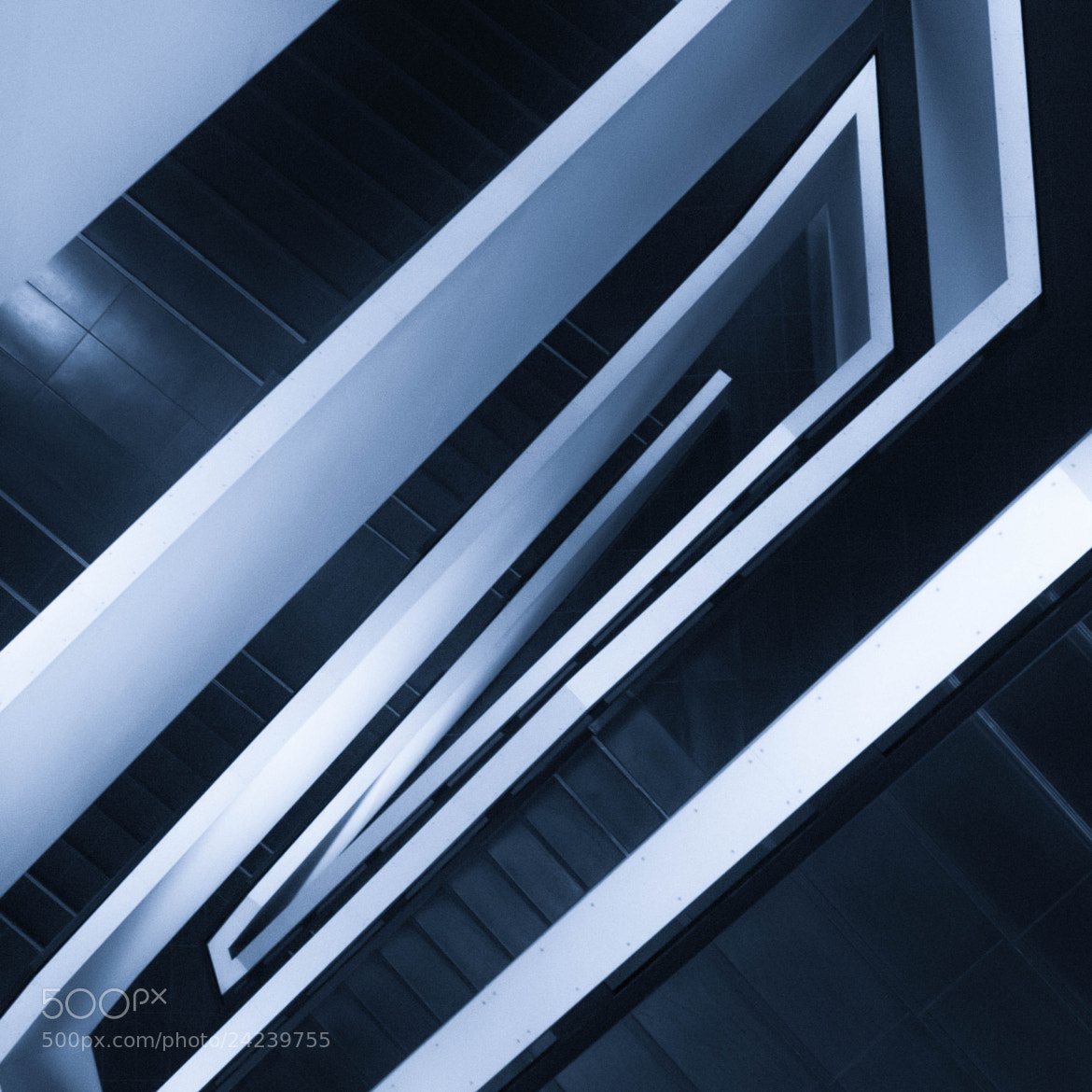 Photograph ROM Stairwell II by Ash Furrow on 500px