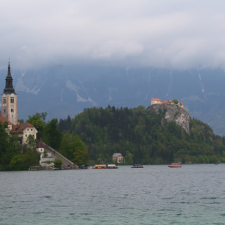 Lake Bled, Canon EOS KISS F, Canon EF-S 18-55mm f/3.5-5.6 IS