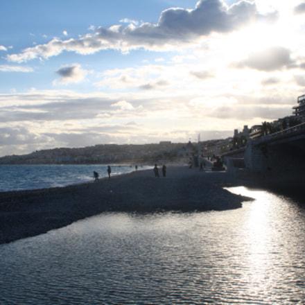 Promenade des Anglais, Canon EOS KISS F, Canon EF-S 18-55mm f/3.5-5.6 IS