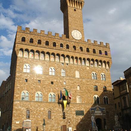 Palazzo Vecchio, Canon EOS KISS F, Canon EF-S 18-55mm f/3.5-5.6 IS