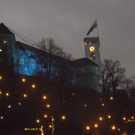 Blue castle, Fujifilm FinePix SL260