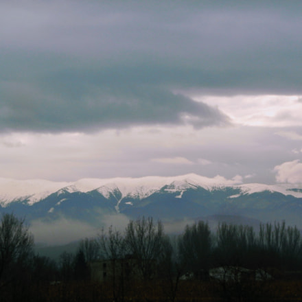 The fog, Nikon COOLPIX S800c