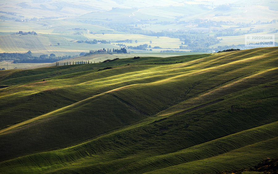 Tuscany green waves, автор — Lothar Dörfer на 500px.com