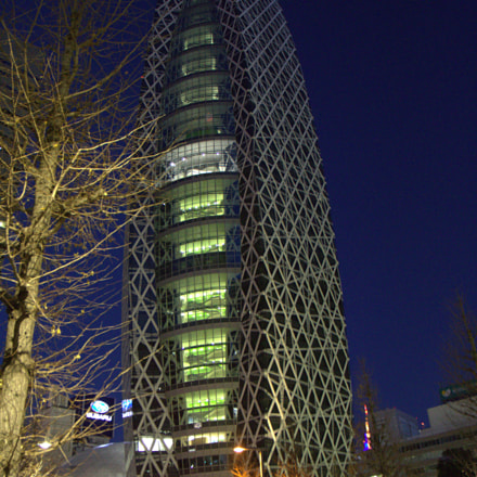 Cocoon Tower at night, Canon EOS 600D, Sigma 17-70mm f/2.8-4 DC Macro OS HSM