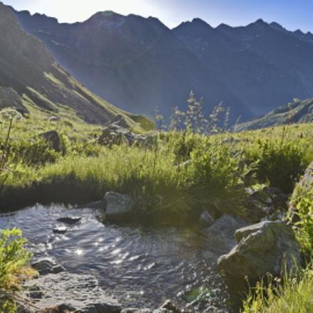 Arhyz17. Mountain water crystal.    ., Nikon D750, AF-S Nikkor 16-35mm f/4G ED VR