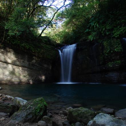 Wanggu Waterfall, Sony SLT-A55V, Sony DT 16-105mm F3.5-5.6 (SAL16105)