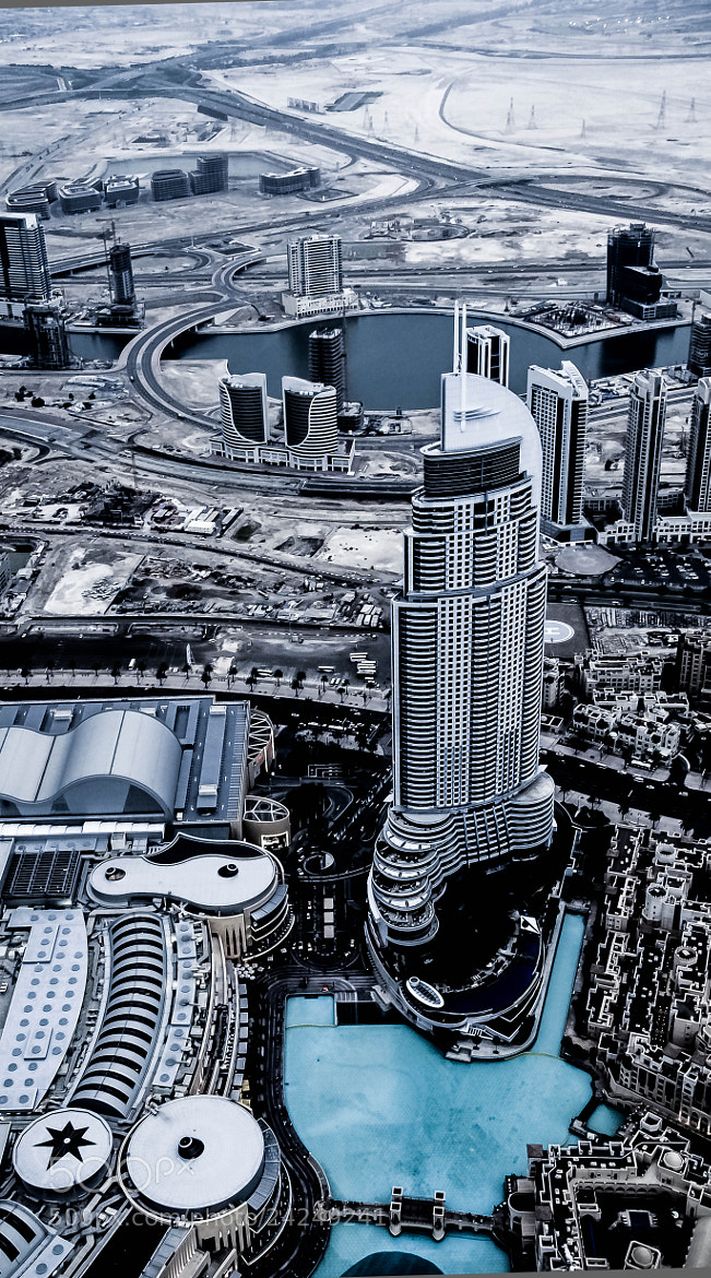 Photograph Toy Town - view from the Bhurj Khalifa 124th floor by julian john on 500px