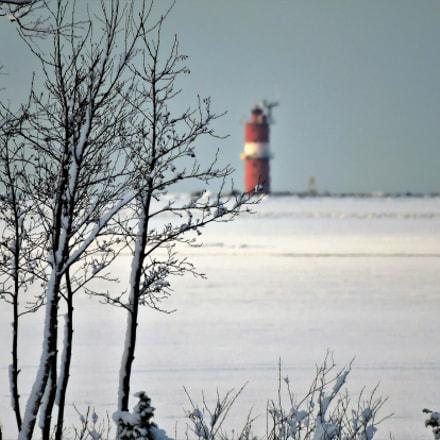 The lighthouse far away, Nikon COOLPIX P600