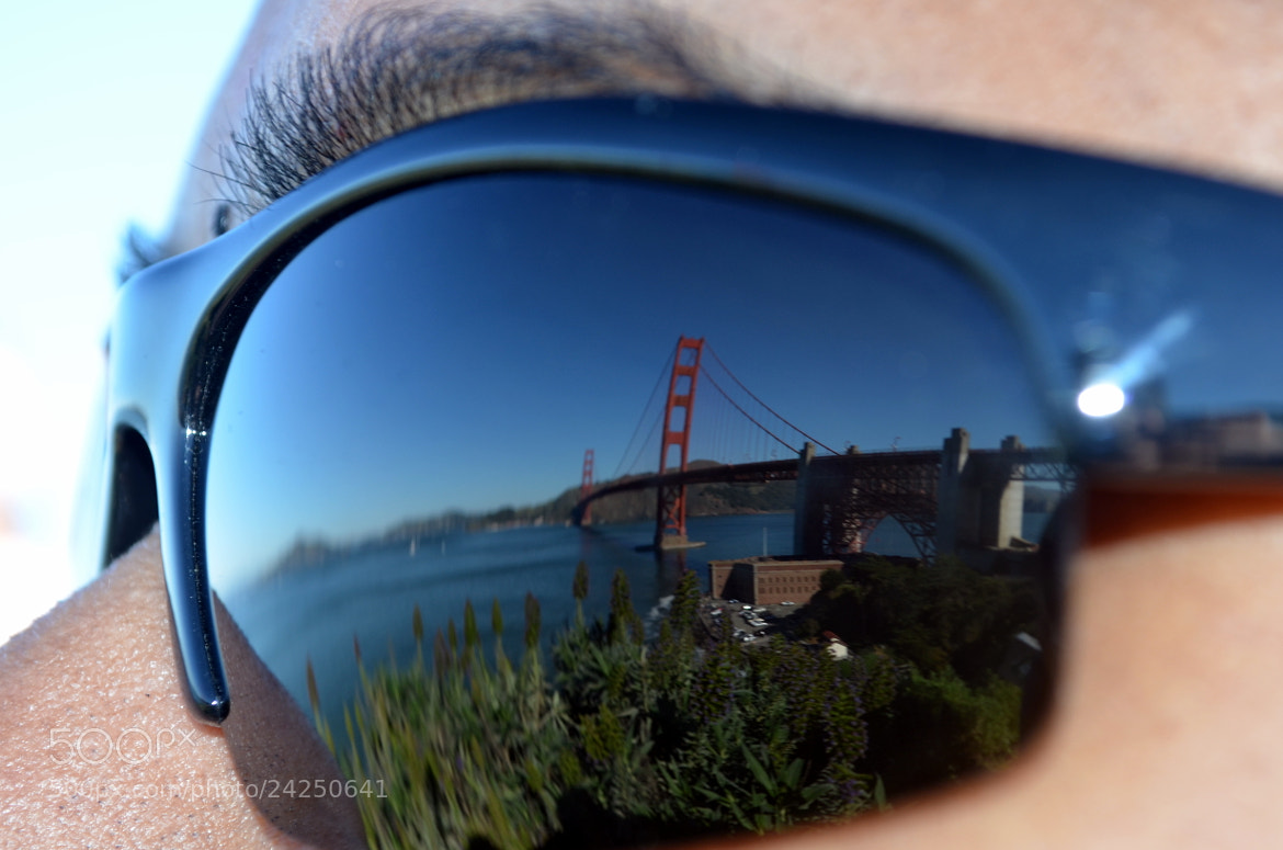 Photograph Golden Gate - an Eye view by Gopal Kumarappan on 500px