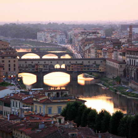 Ponte Vecchio, Canon EOS 1000D