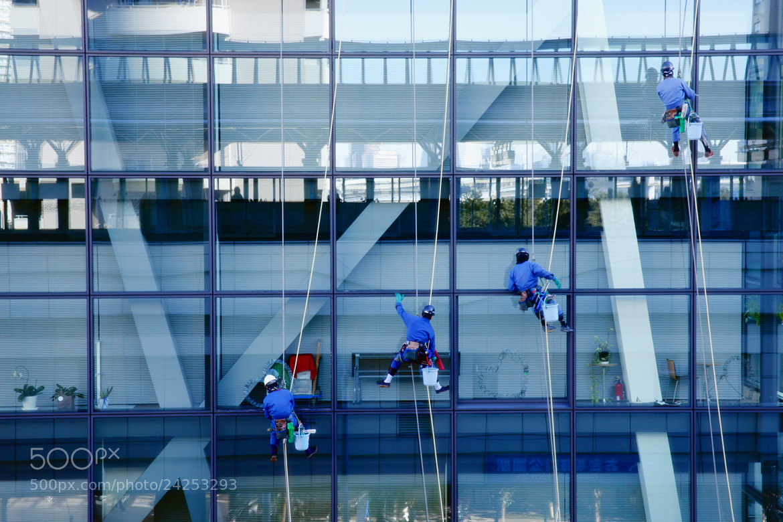 Photograph Men at Work by Rio Akasaka on 500px