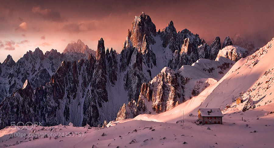 Photograph Sunrise Dolomites (2) by Max Rive on 500px